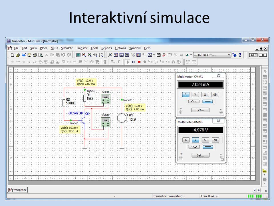 Analýza • Parametrická (parameter sweep)
