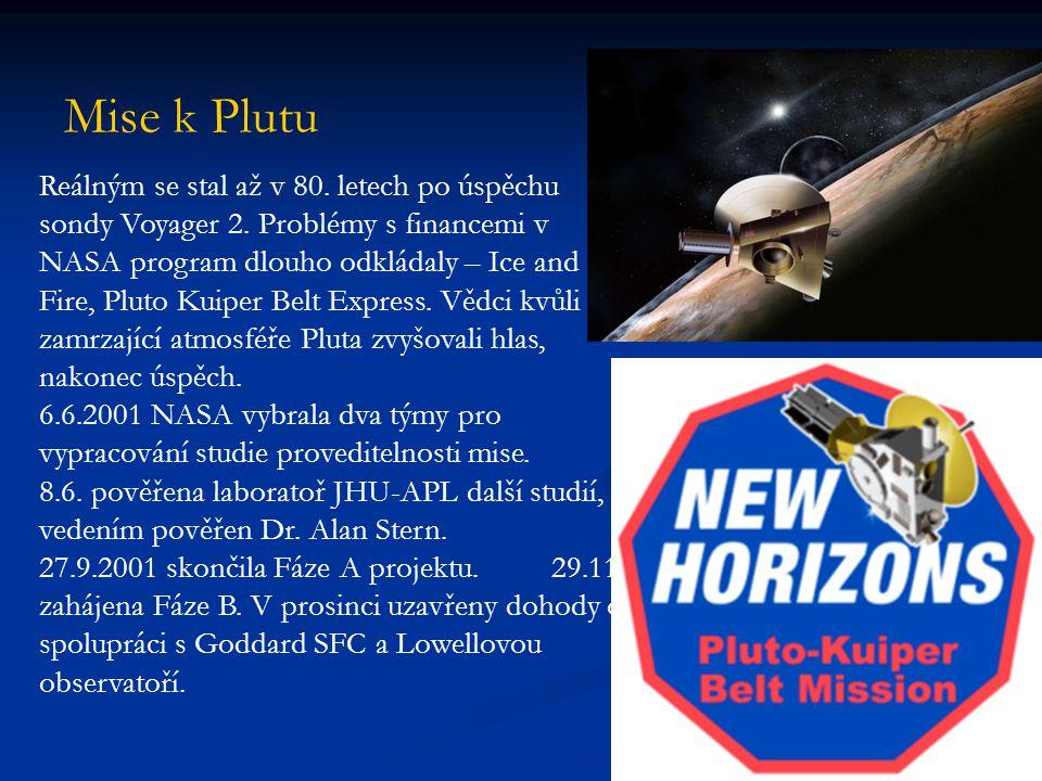 V roce 2002 se k projektu připojil Southwest Research Institute, vypracován kompletní projekt: určení konstrukce, přístrojového a vědeckého vybavení, trajektorie.