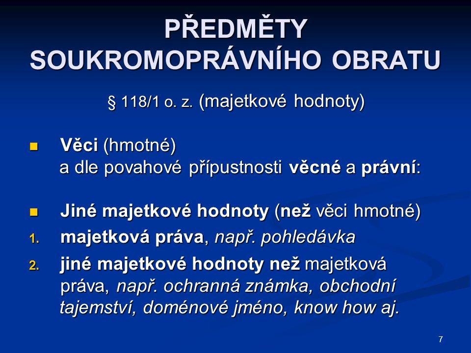 58 PROHLÁŠENÍ VLASTNÍKA BUDOVY  Forma písemná  Obsah: 1.