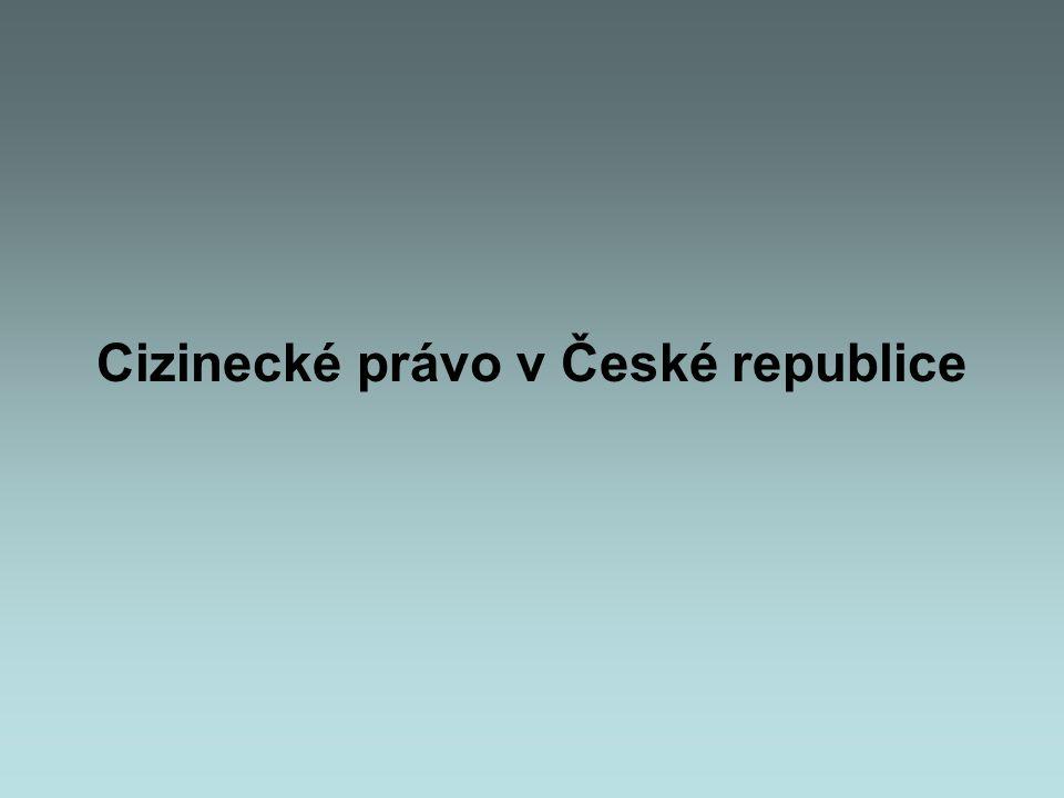 Cizinecké právo v České republice