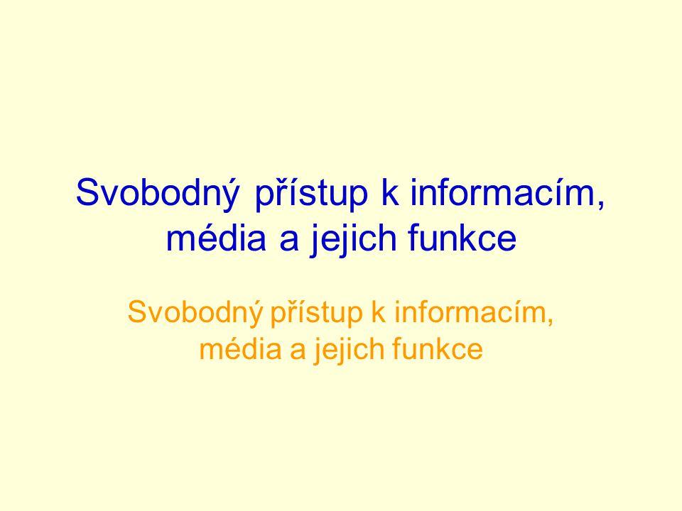 •Informace jsou obsah zprávy či sdělení, které lze poslat dál.