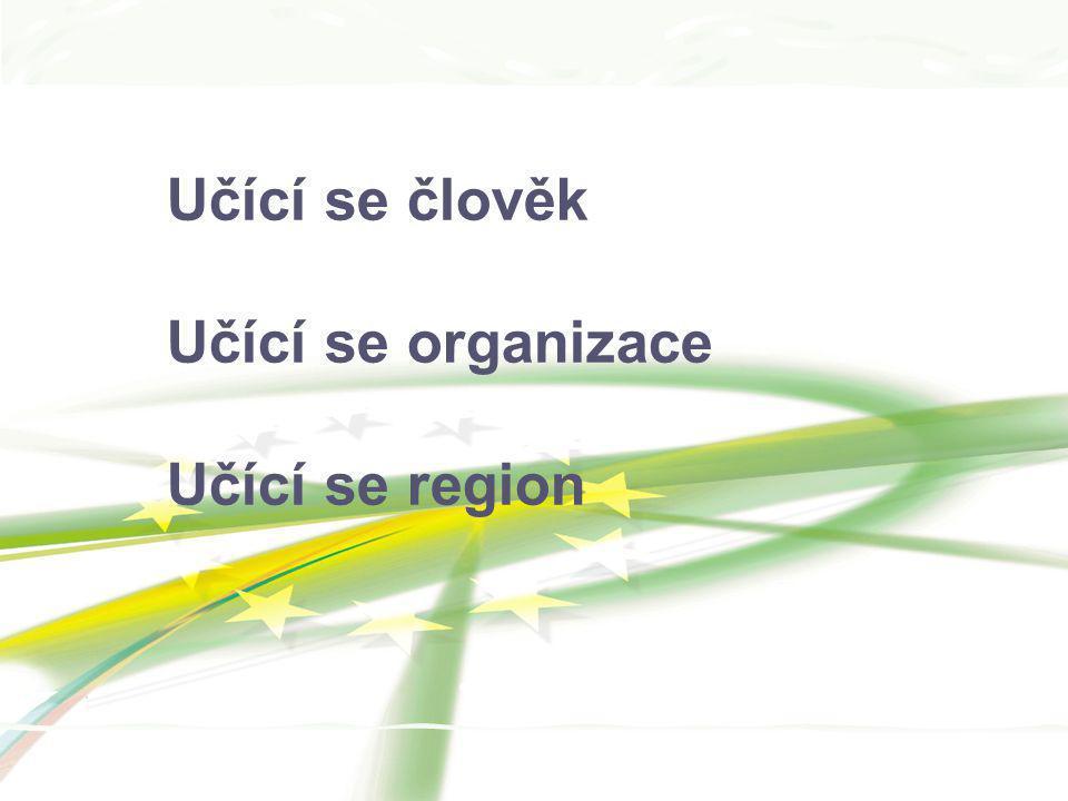 Učící se člověk Učící se organizace Učící se region