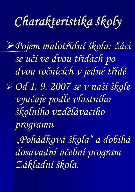 ZŠ Ořechov Pohádková škola