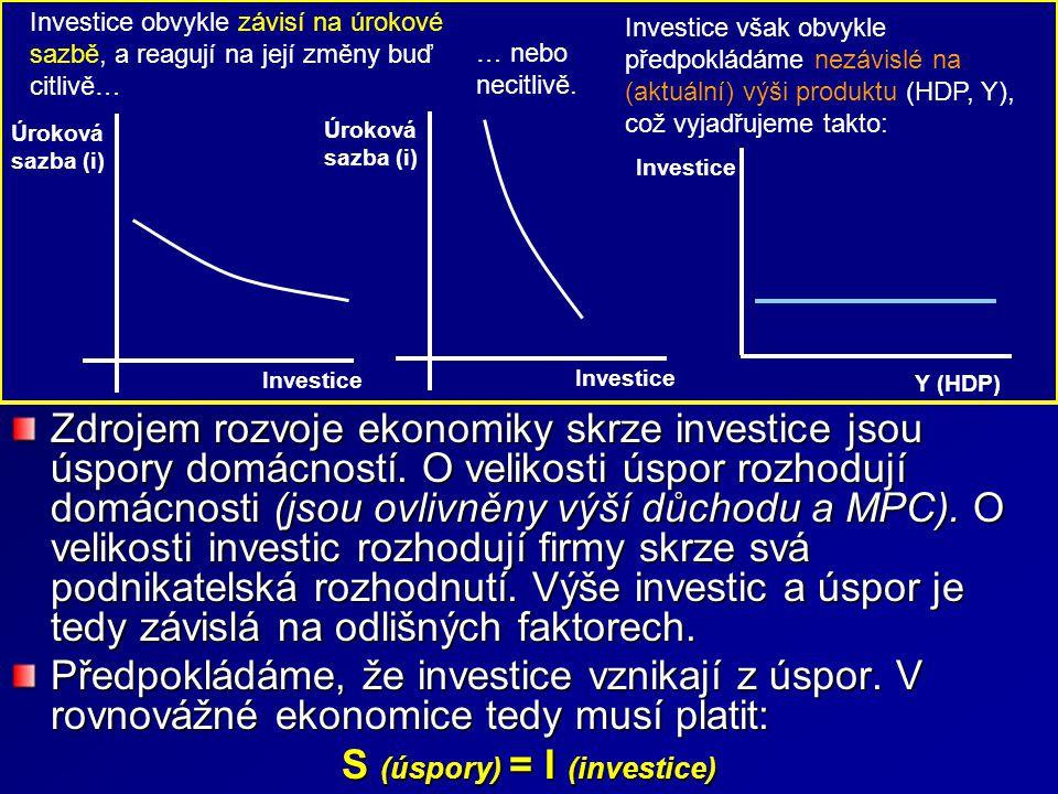 Investice Investice (I) je ekonomická činnost, při níž se subjekt vzdává současné spotřeby s očekáváním zvýšení budoucí spotřeby.