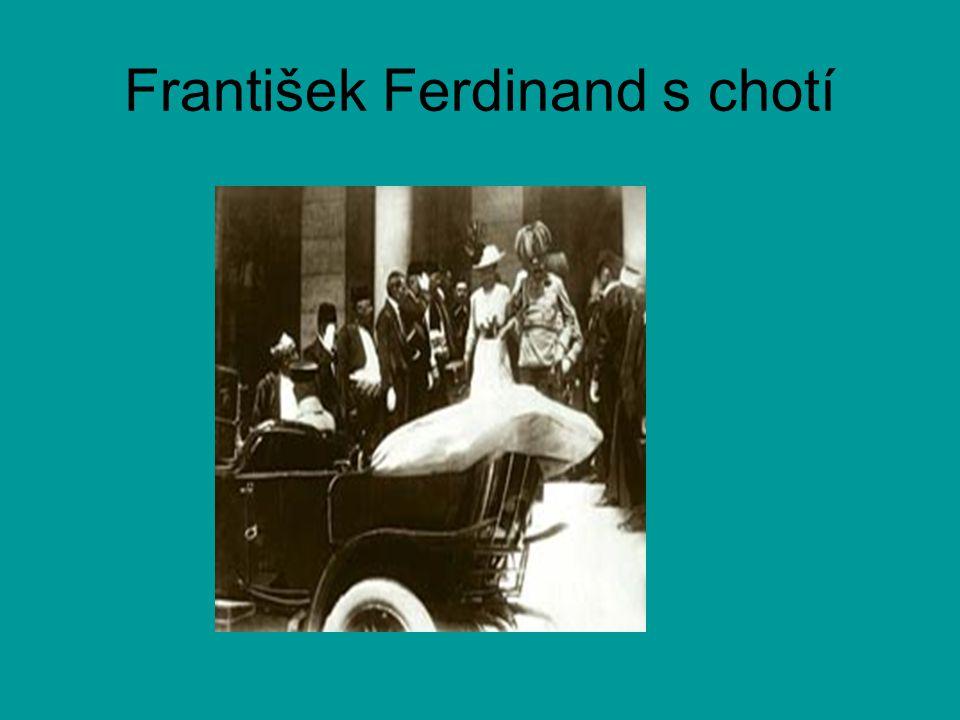 František Ferdinand s chotí