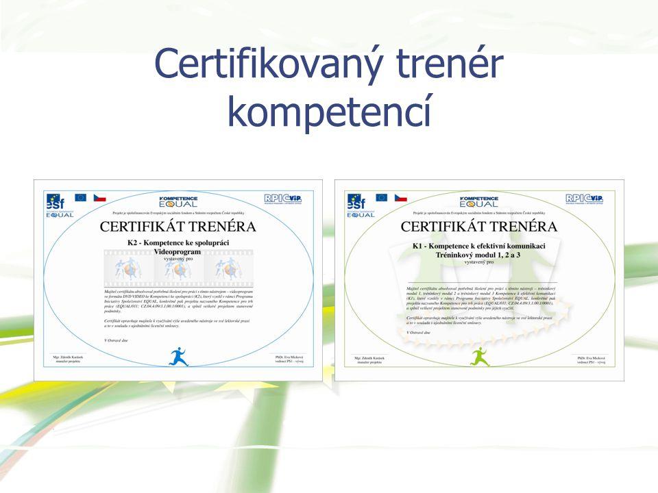 Certifikovaný trenér kompetencí