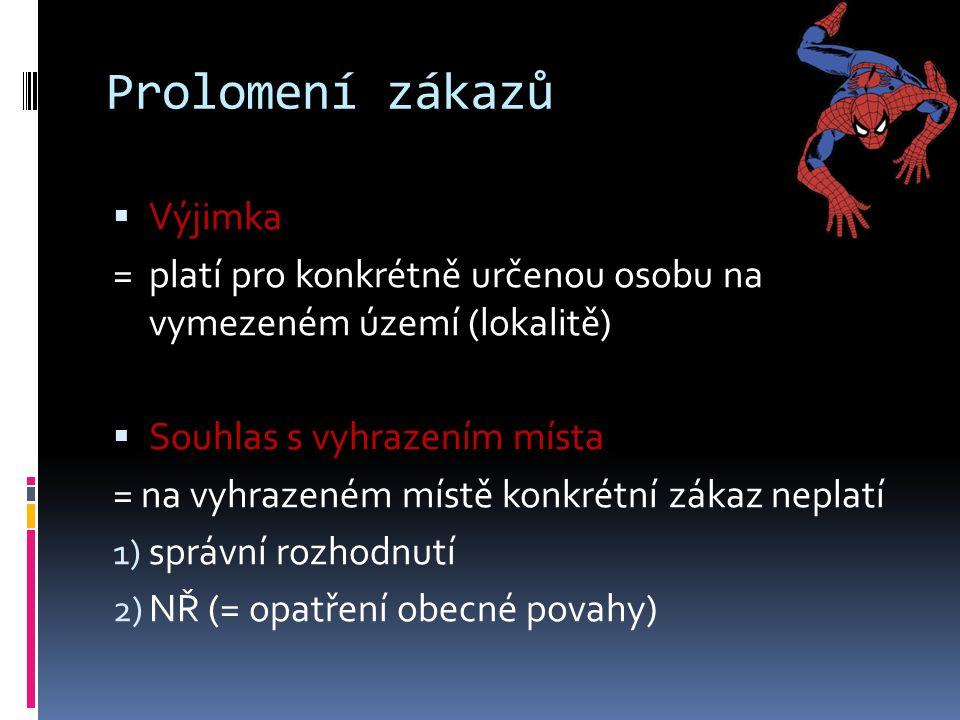 Příslušnost  Správy NP a CHKO - NP: podle § 78 odst.