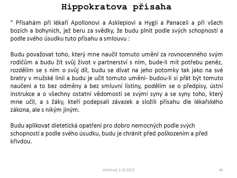 Velehrad_1.10.201346 Hippokratova přísaha