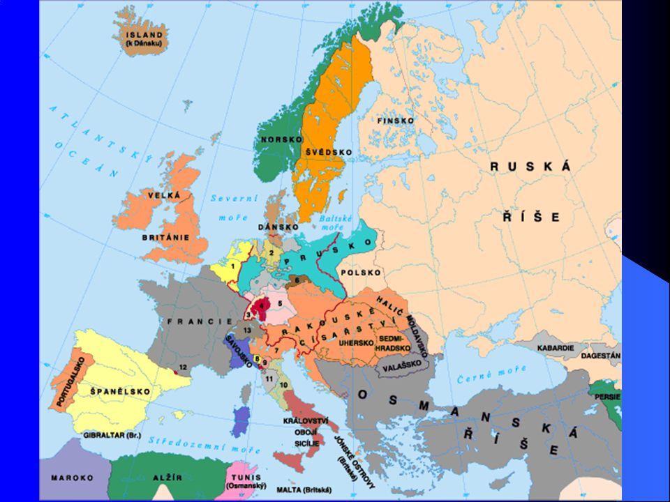 Evropa na počátku 19. století Protifrancouzská koalice Protifrancouzská koalice