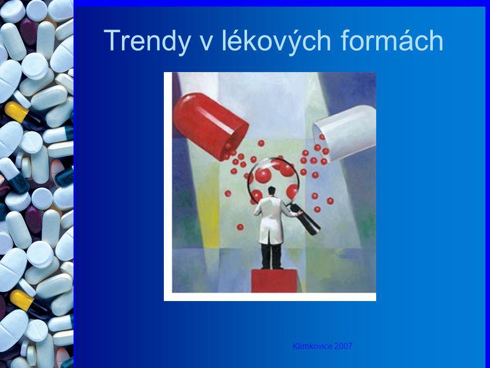 Trendy v lékových formách Klimkovice 2007