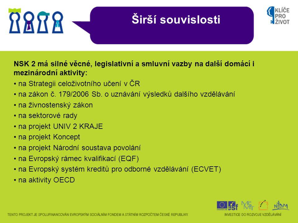 NSK rozlišuje dva druhy kvalifikací: • Úplnou kvalifikaci (ÚK), kterou zákon č.
