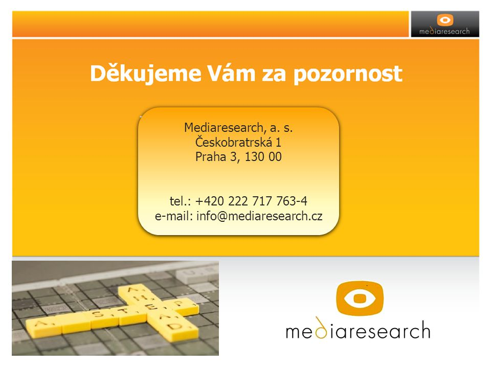 za tým Mediaresearch Mediaresearch, a. s.