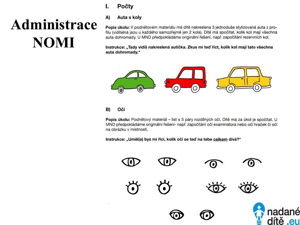 Administrace NOMI