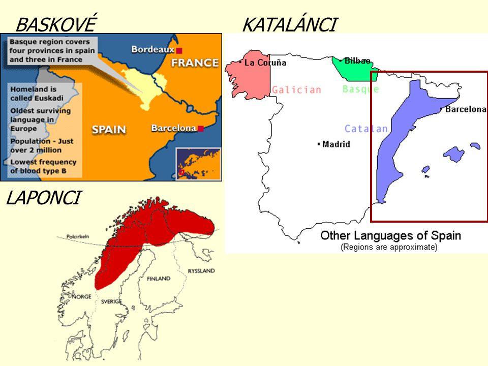 Některé národy se od sousedních národů odlišují svým jazykem (národní jazyk) Některé národy se od sousedních národů svým jazykem neodlišují, hovoří stejným jazykem (mezinárodní jazyk) JAZYKOVÉ NÁRODY ÚZEMNÍ NÁRODY Uveď příklady jazykových a územních národů.