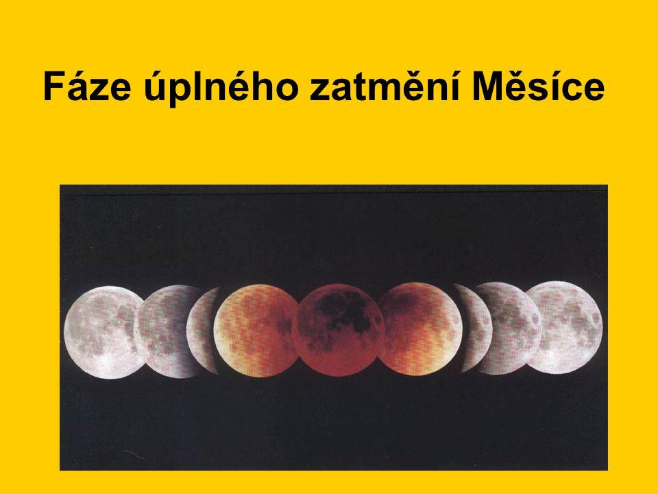 Fáze úplného zatmění Měsíce