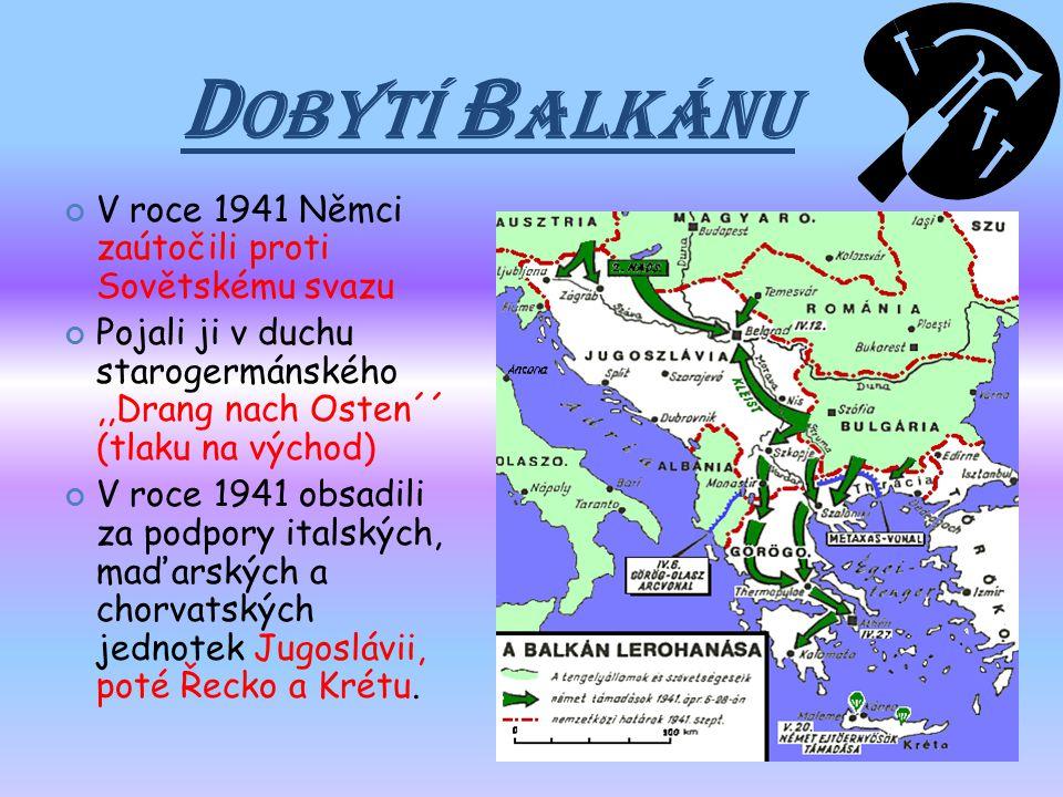 P AKT TŘÍ Koncem září 1940 uzavřely vlády Německa, Itálie a Japonska,,Pakt tří´´ (osa Berlín - Řím - Tokio) Ve smlouvě si rozdělili budoucí sféry poli