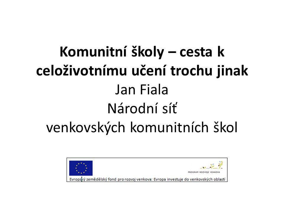 Komunitní školy – česká historie • 1996 Obecně prospěšná společnost Nová škola ( se sídlem v Praze) je nevládní, nezisková organizace, která podporuje vzdělávání menšin, především Romů, dospělých i dětí po celé republice.