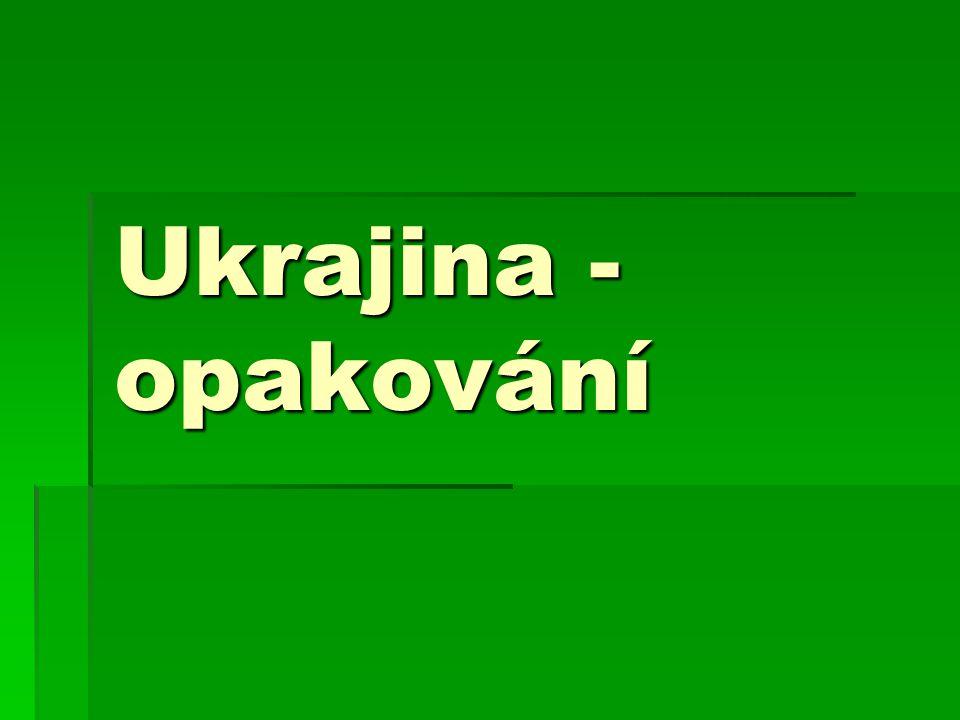 7.K jakému moři nemá Ukrajina přístup.