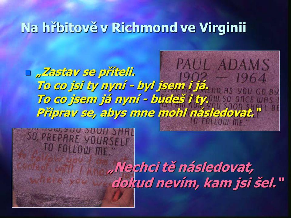"""Smrt = nejistota n""""n""""n""""n""""Nyní přichází tajemství."""" Henry von Bičow n""""n""""n""""n""""Já jdu mimo tělo. Jestli to bude život nebo nicota (nevědomost) nevím."""" Sok"""