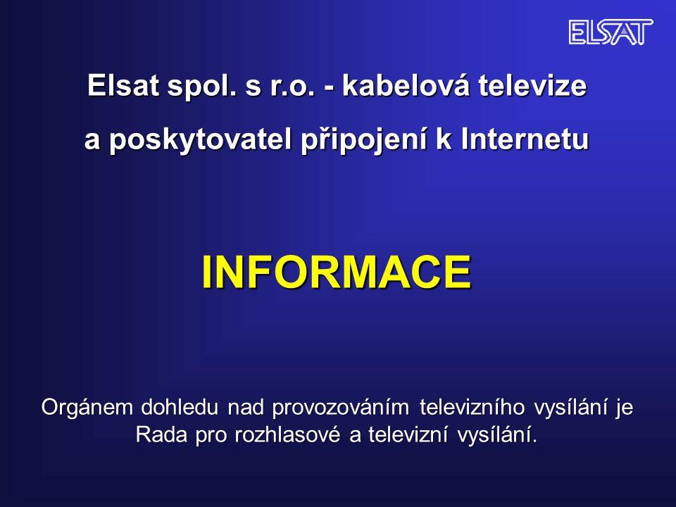 ZMĚNY V ANALOGOVÉ NABÍDCE - na nový tv kanál E 07 – frekvence 189,25 MHz byl zařazen nový televizní program ČT:D/ČT art.