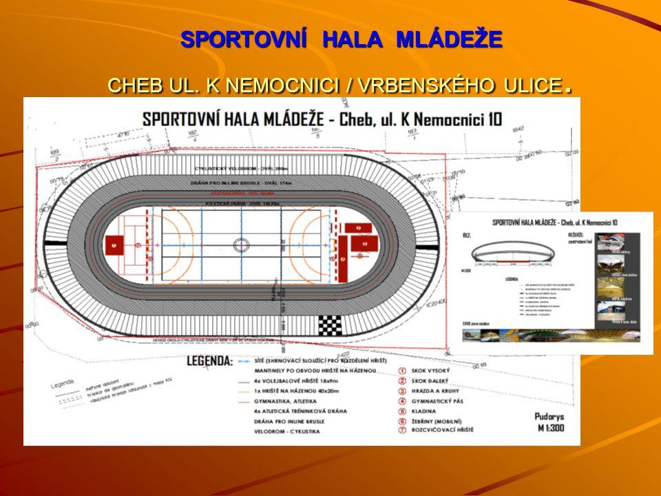 Město Cheb je přímo ideálně položeno pro vybudování sportovního centra M ě sto Cheb - leží sice v nejzápadnější části naší republiky ale geograficky ve středu Evropy.