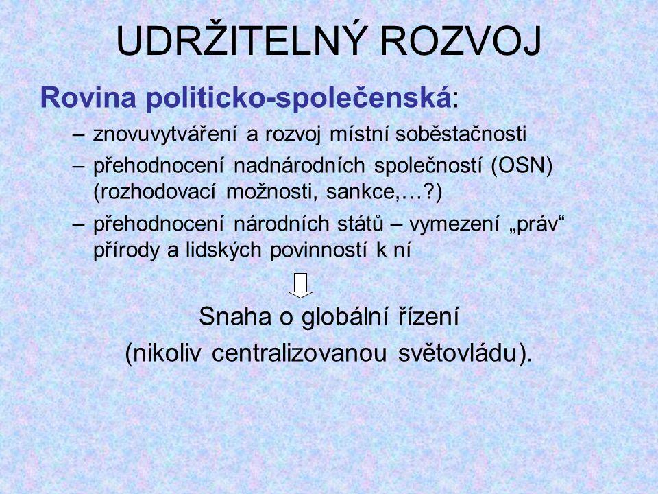 ZASTOUPENÍ VYBRANÝCH OBORŮ ŽP V ČR NA VŠ