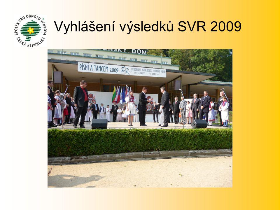 Vyhlášení výsledků SVR 2009