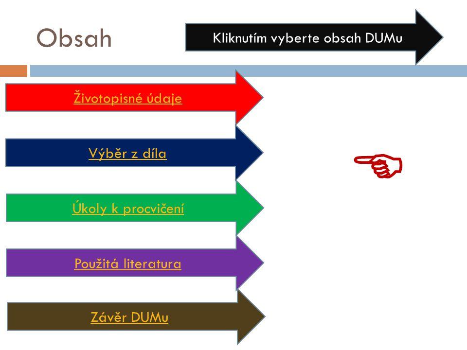 Metodické pokyny -DUM přináší základní informace o životě a scénáristickém díle autora Zdeňka Svěráka - slide č.