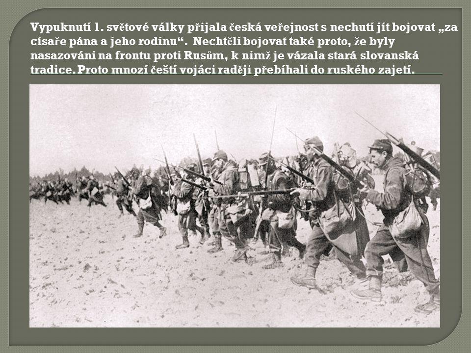  Ž ivot za války se velmi zhoršil.