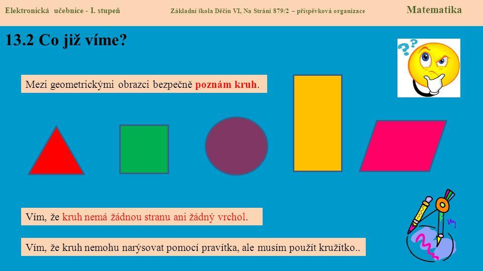 13.3 Jaké si řekneme nové termíny a názvy.Elektronická učebnice - I.