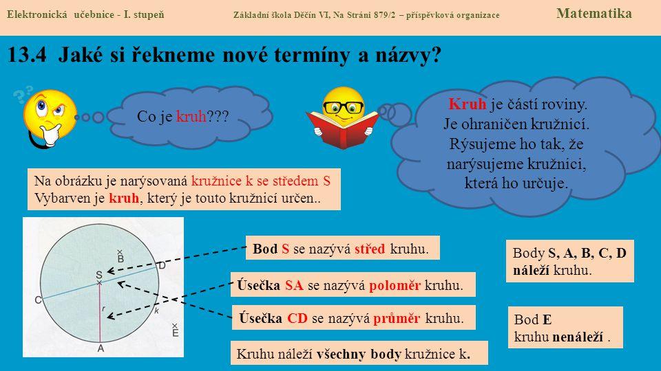 13.5 Procvičení a příklady Elektronická učebnice - I.