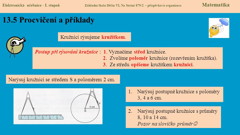 13.6 Něco navíc pro šikovné Elektronická učebnice - I.