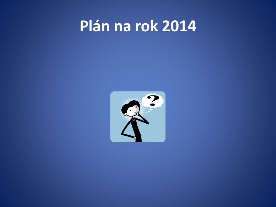 Plán na rok 2014