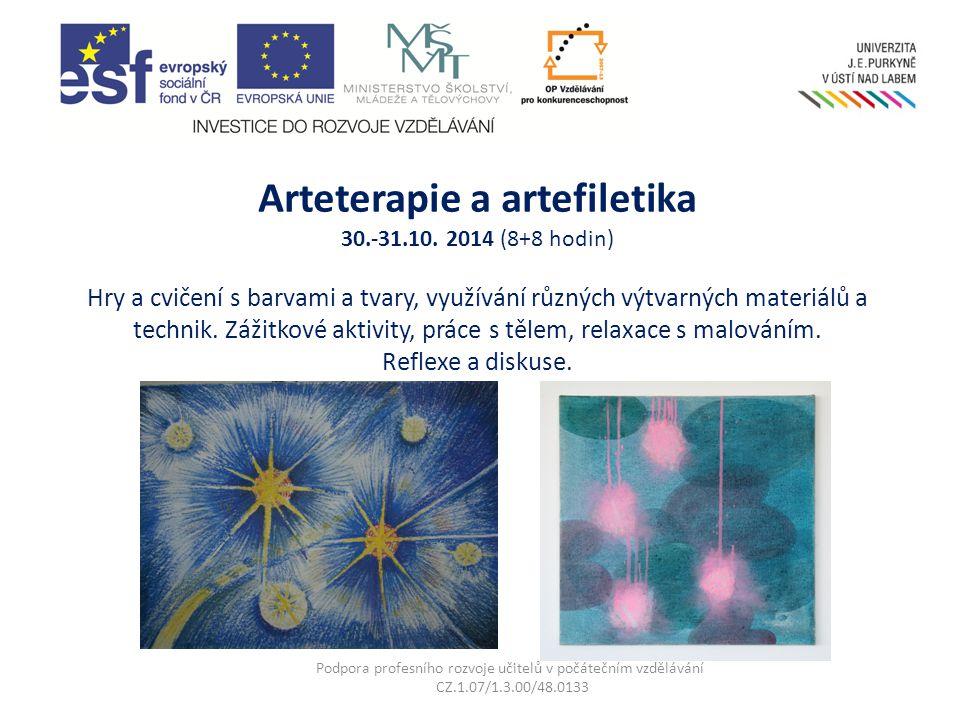 Arteterapie a artefiletika 30.-31.10.