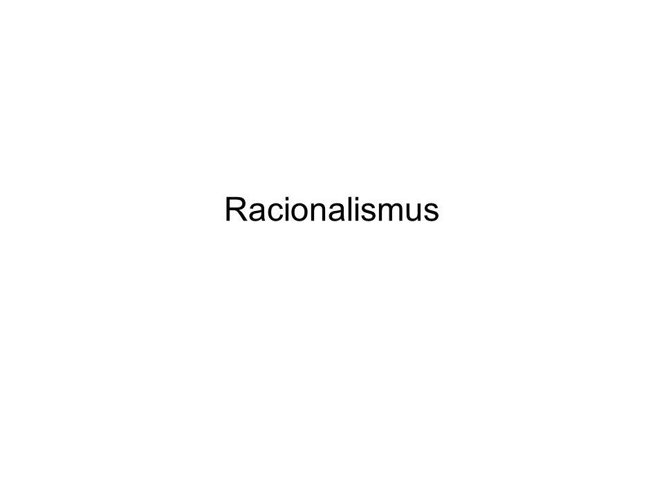 Jak se nazývá filozofická disciplína, v níž je racionalismus jednou z hlavních odpovědí na její otázky.