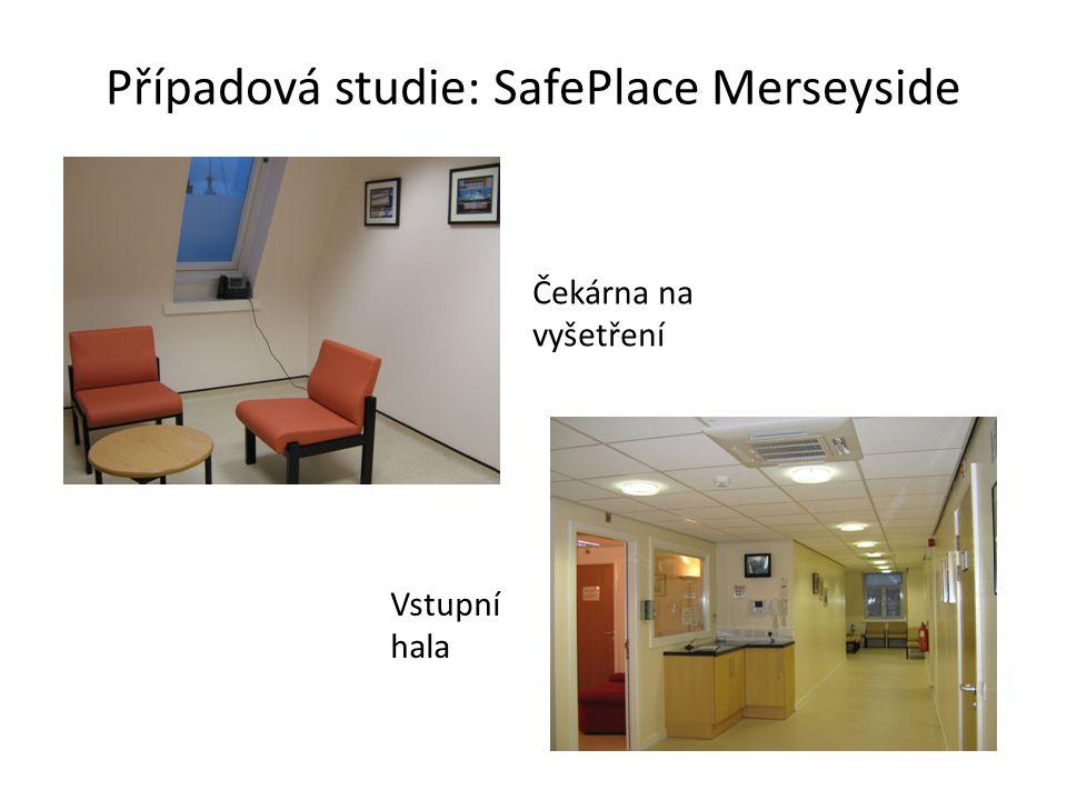 Případová studie: SafePlace Merseyside Čekárna na vyšetření Vstupní hala