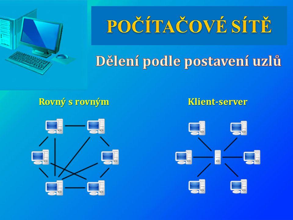 Rovný s rovným Klient-server