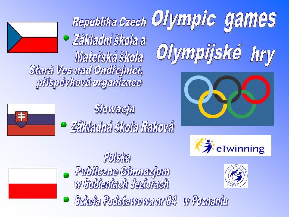 Olympic Games 2008 Olympijské hry 2008