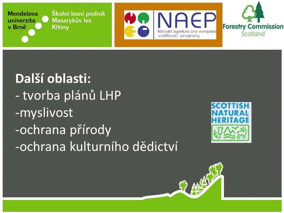 Jméno Příjmení Název prezentace Další oblasti: - tvorba plánů LHP -myslivost -ochrana přírody -ochrana kulturního dědictví