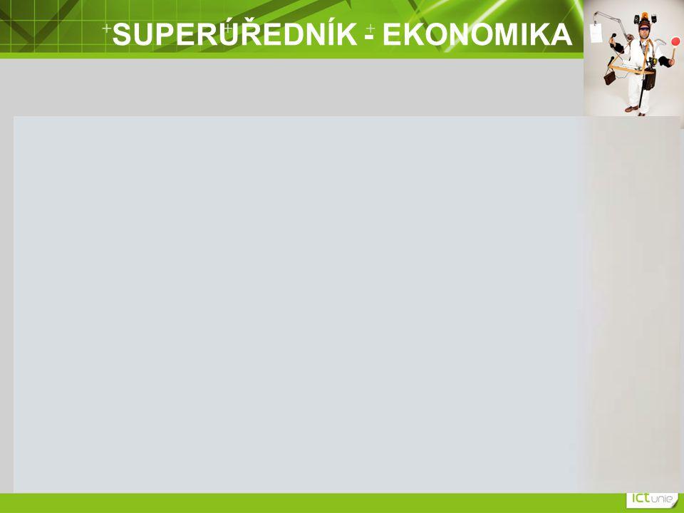 SUPERÚŘEDNÍK - EKONOMIKA