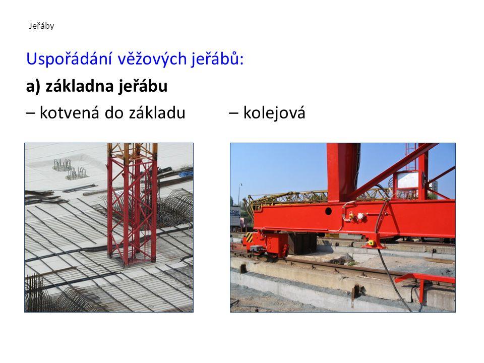Jeřáby b) jeřáby na kolovém podvozku teleskopický hydraulicky ovládaný výložník kolový terénní podvozek hydraulicky vysouvatelné stabilizační opěry