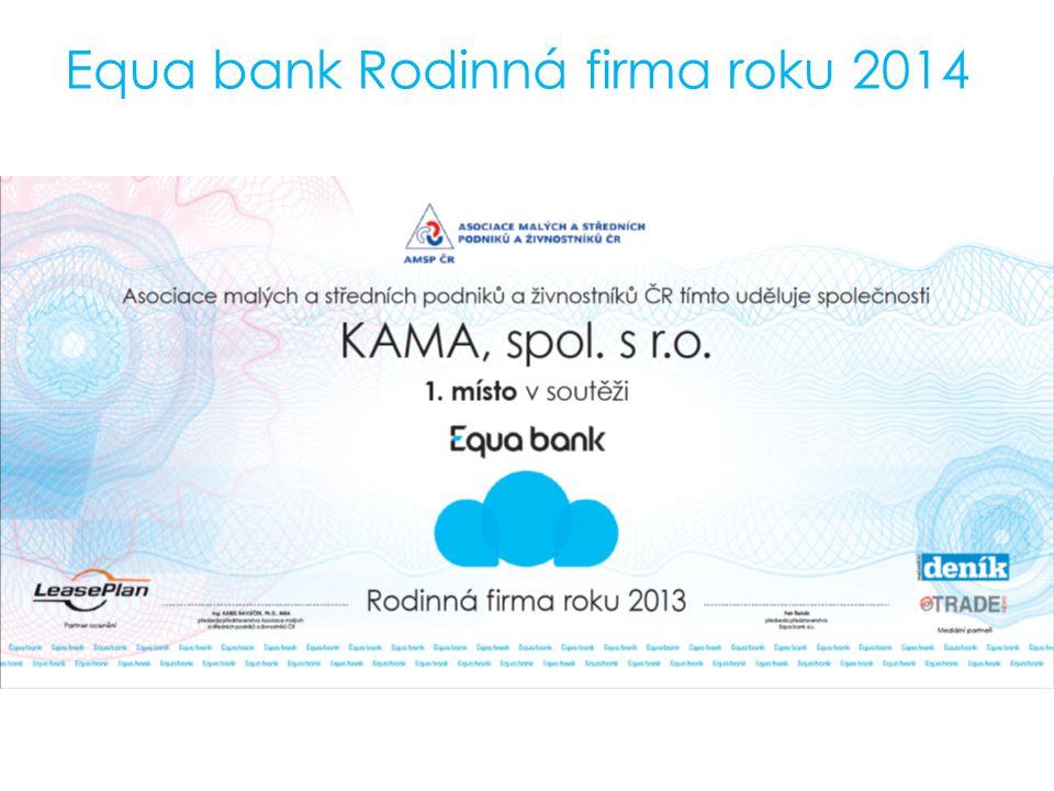 Equa bank Rodinná firma roku 2014