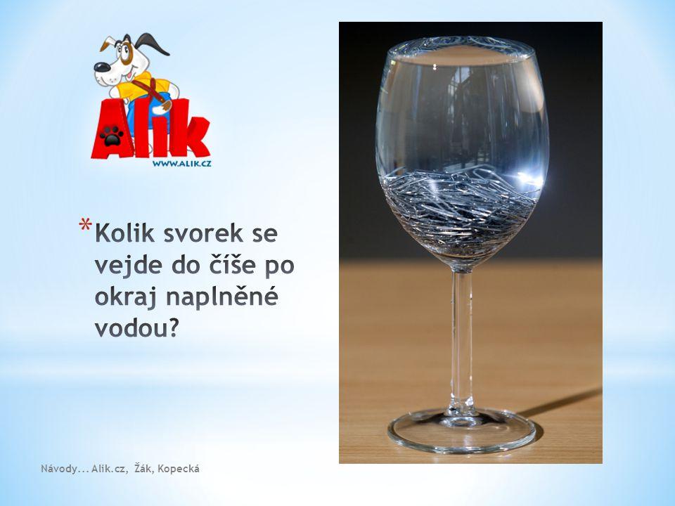 Návody... Alik.cz, Žák, Kopecká * Kontakty Vojtech.Zak@mff.cuni.cz vkopecka@centrum.cz
