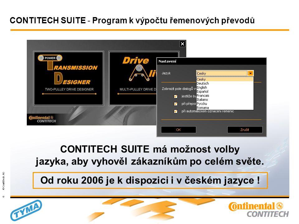 Powertransmission Group 27 © ContiTech AG 2.