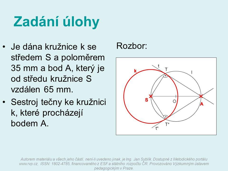Autorem materiálu a všech jeho částí, není-li uvedeno jinak, je Ing. Jan Syblík. Dostupné z Metodického portálu www.rvp.cz, ISSN: 1802-4785, financova