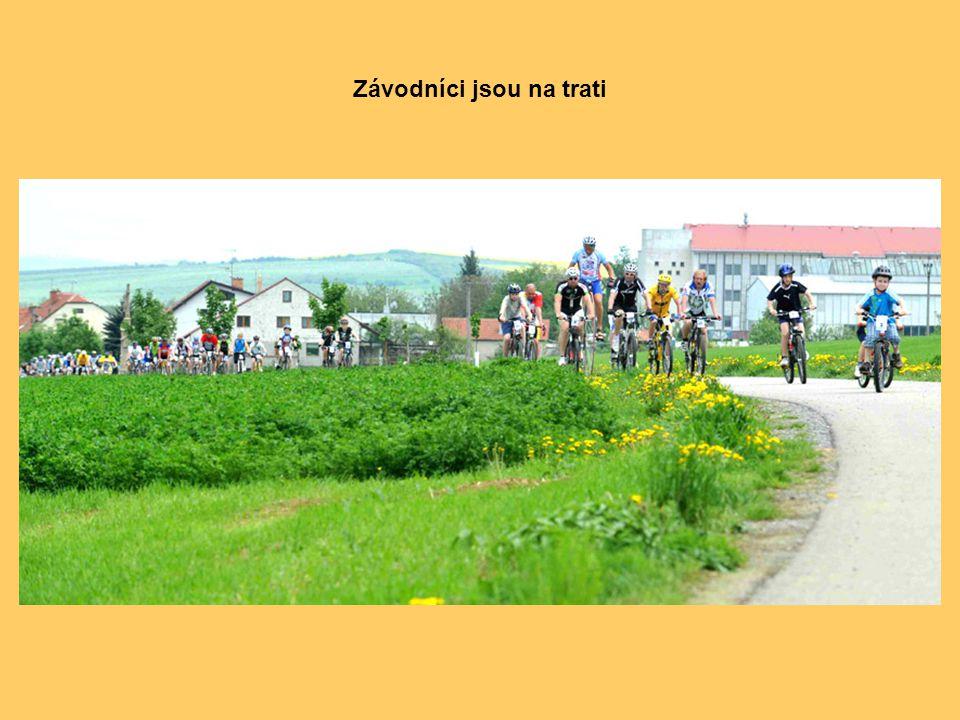Na startu byl i Ivan Křivánek, čtyřnásobný mistr světa v jízdě na drezíně (dřevěném kole).