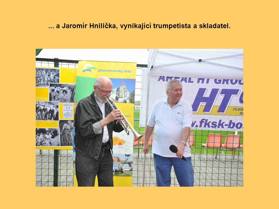 ... známý zpěvák lidovek Jožka Černý...