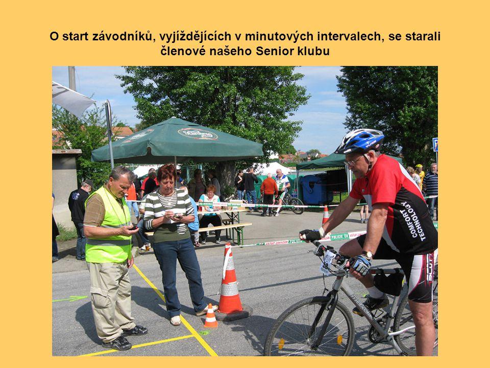 Závodu se zúčastnil i bývalý československý cyklista Jiří Daler