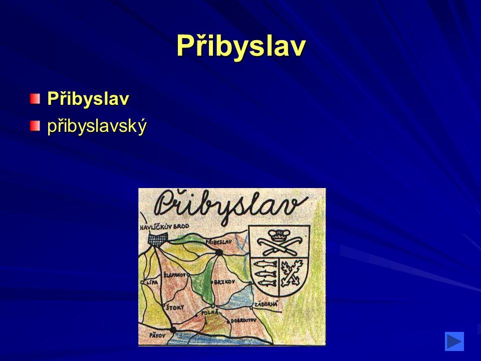 Přibyslav Přibyslavpřibyslavský