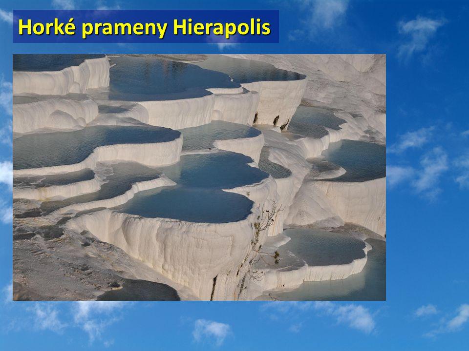 Horké prameny Hierapolis